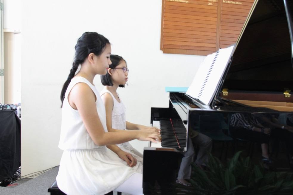 sing50 fund adopt piano programme casuarina primary music