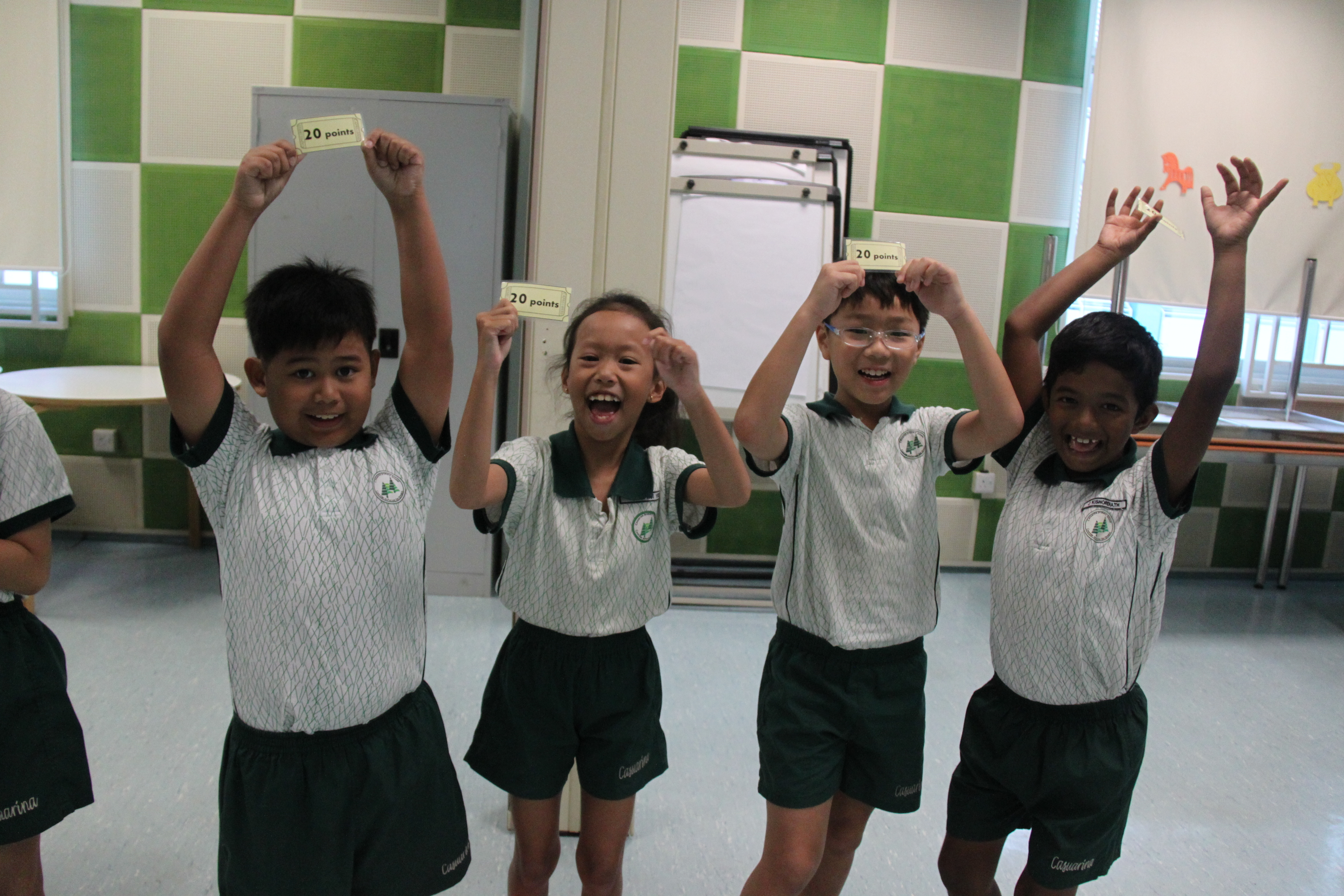Maths@play P4 casuarina student primary school games