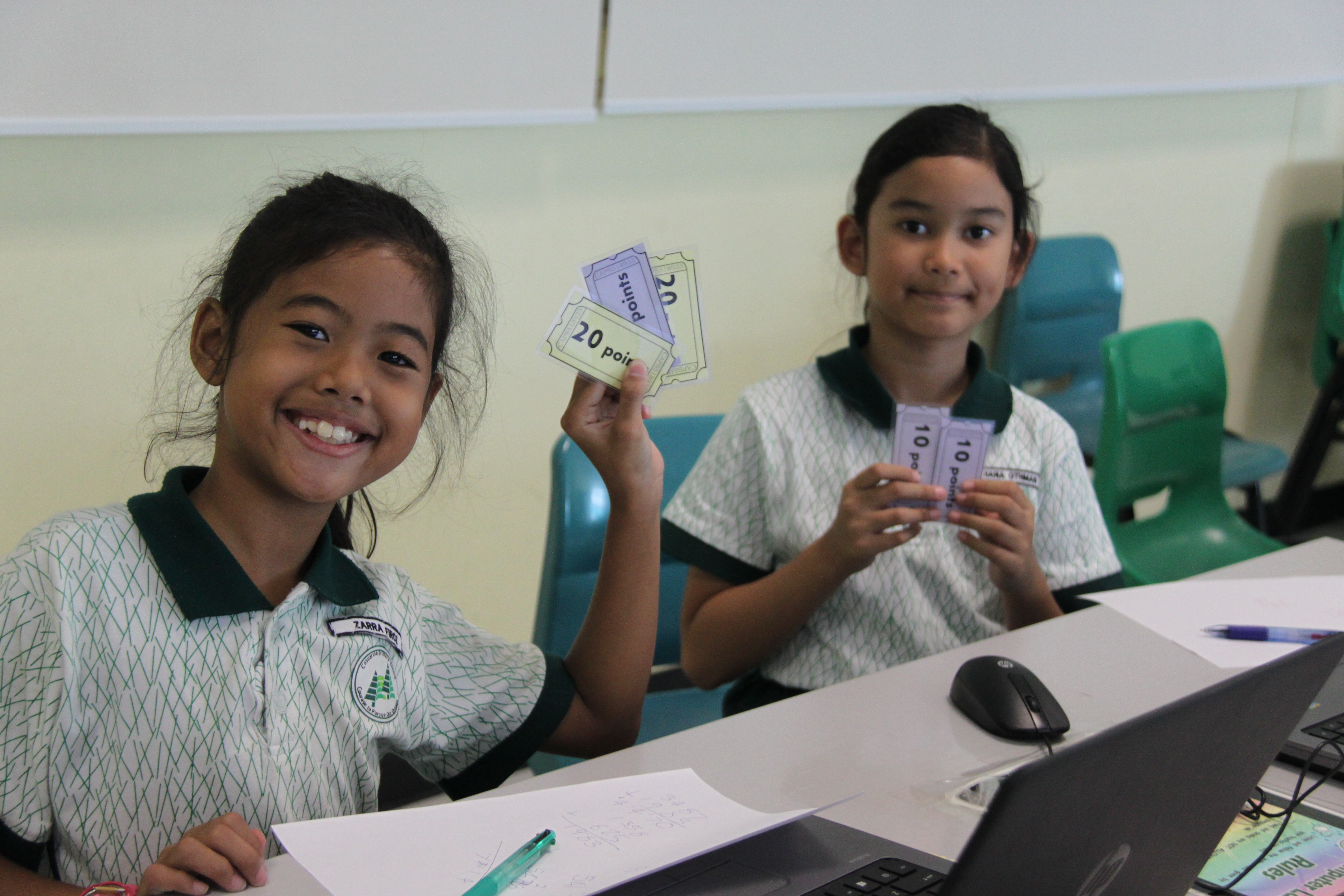 Maths@play ict casuarina student primary school games