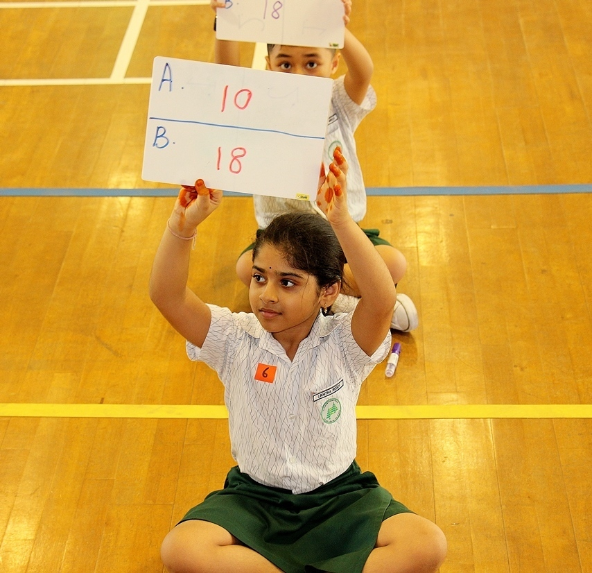 mathematics multiplication marathon casuarina student primary school games